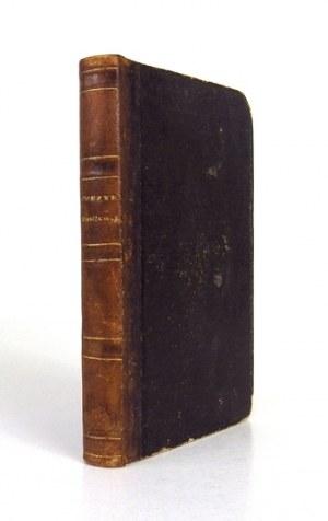 WASILEWSKI Edmund - Poezye. Kraków 1849. Nakładem i drukiem Józefa Czecha. 16, s. XII, 292, [4]...