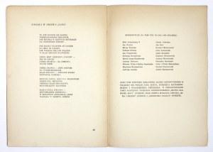 CHUDEK Józef Marjan - Drzewa. Biblioteka Klubu Artystycznego S