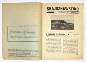KRAJOZNAWSTWO. R. VI, nr 1 (19): IV 1935.