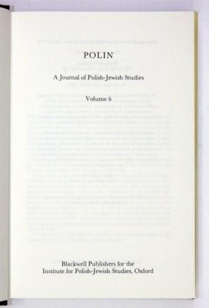 Volume 6. 1991. s. VIII, [1], 341, [1].