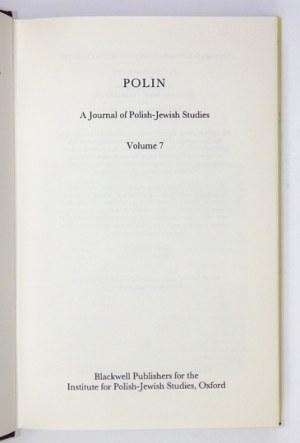 Volume 7. 1992. s. VIII, [2], 339, [3].