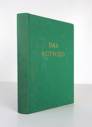 RAESFELD Ferdinand von - Das Rotwild. Naturgeschichte, Hege und Jagd. [...] Mit 215 Abbildungen und 5 farbigen Tafeln [....
