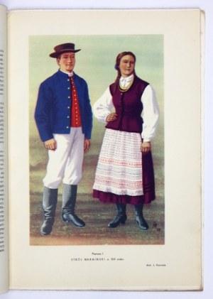 Cz. 1: Pomorze i Warmia. Z. 3: Klonowski A. Franciszek - Strój warmiński. 1960. s. 62, [4], tabl....