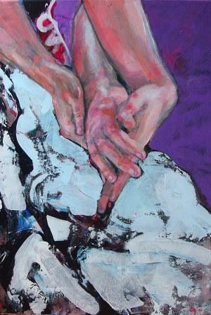 Diana Galińska, Masaż dłoni, 2021