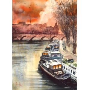 Mariusz Kula, Paryż, widok na Sekwanę