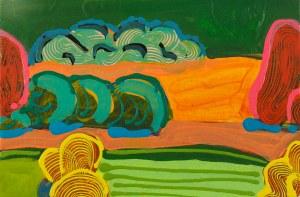 IVO ALVARONE, Emotional Landscape 008, 2018, 30x45 cm