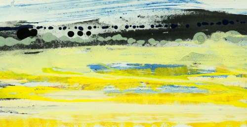 BARTOS SARO, Horizontal Landscape 14, 2021, 32 x 62 cm