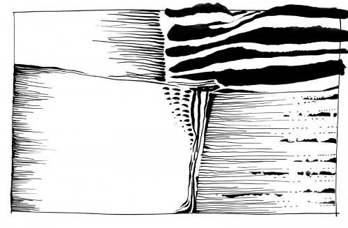 JAN ASTNER, Landscape Cadences 05, 2021, 19 x 29 cm