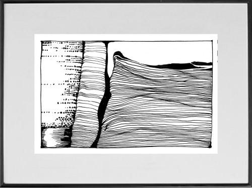 JAN ASTNER, Landscape Cadences 11, 2021, 19 x 29 cm