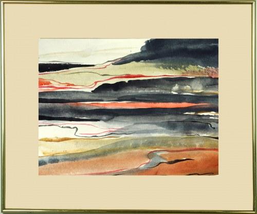 IVO ALVARONE, Linear Landscape 07 F, 2021, 32 x 42 cm