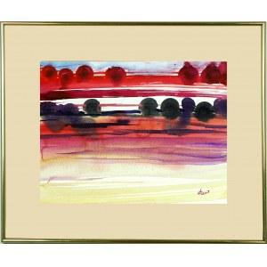 BARTOS SARO, Mirage Watercolor 04 F, 2021, 32 x 42 cm