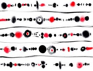 ROBERT VANECKE, Pseudologia Fantastica Red 30, 2018, 30 x 40 cm