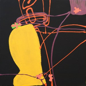 ALICJA JUNO, Run, Run 06, 2019, 60 x 60 cm