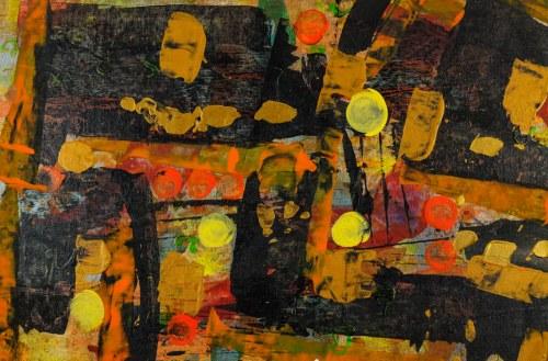 JAN ASTNER, Synesthetic Garden Black 06, 2018, 75 x 50 cm