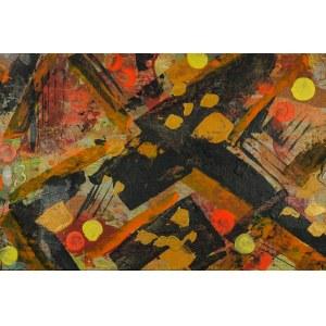 JAN ASTNER, Synesthetic Garden Black 09, 2018, 75 x 50 cm