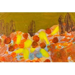 JAN ASTNER, Synesthetic Garden Brown, 2018, 75 x 50 cm