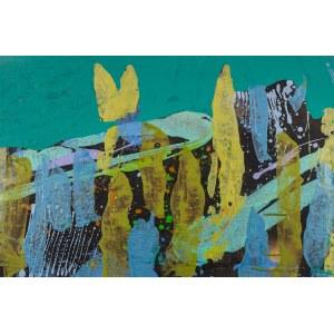 JAN ASTNER, Synesthetic Garden Emerald, 2018, 75 x 50 cm