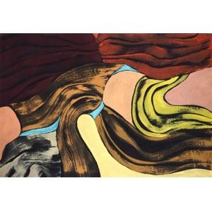 BARTOS SARO, Synkopa 62, 2019, 110 x 75 cm
