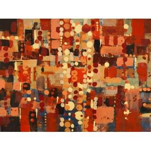 JAN ASTNER, Voluptuous Towns T13 / 087 Klatovy, 2020, 70 x 100 cm