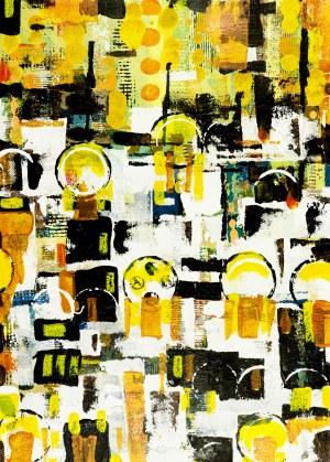 JAN ASTNER, Voluptuous Towns W 029 Darligton, 2018, 70 x 50 cm