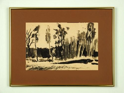 IVO ALVARONE, Winter Landscape 08, 2018, 29 x 20 cm
