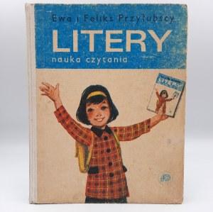 Przyłubscy Ewa i Feliks - LITERY - nauka czytania - Warszawa 1981