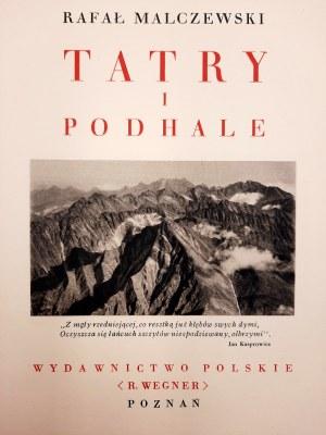 Malczewski Rafał - Tatry i Podhale - Cuda Polski - Poznań 1935