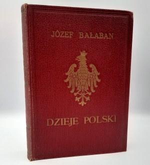 Bałaban Józef - Dzieje Polski - Lwów 1930