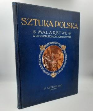 Jasiński F., Cybulski A. - Sztuka Polska - MALARSTWO [1904]