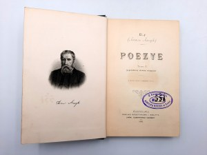 Asnyk Adam - PISMA - komplet T.I-V - Warszawa 1898