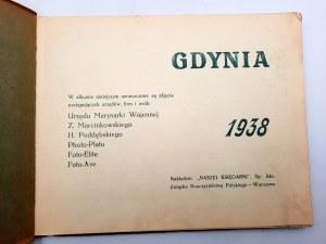Album - 80 widoków Gdyni, Portu i Wybrzeża z 1938 roku
