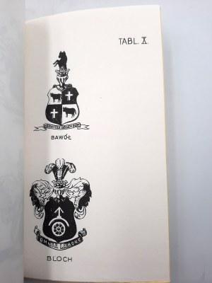 Korwin Ludwik - Szlachta polska pochodzenia żydowskiego -reprint, Kraków 1933