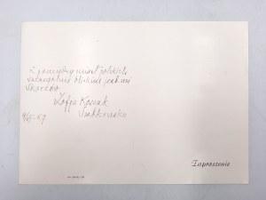Kossak Zofia - ROK POLSKI - autograf i fotografia z 1967r