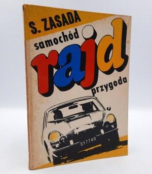 Zasada S. - Samochód Rajd Przygoda - autograf autora - Warszawa 1970
