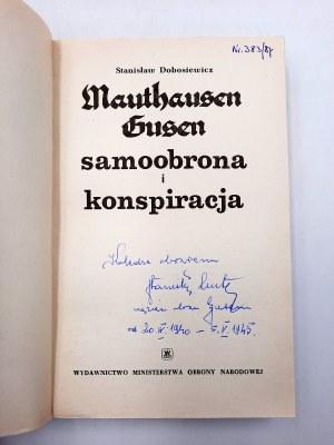 Dobosiewicz S. - Mauthausen/Gusen - [dedykacja]