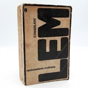 Lem S. - OPOWIADANIA WYBRANE - Pierwsze wydanie - Kraków 1973