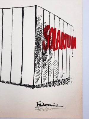 Jacek Fedorowicz - SOLARIUM - tusz/papier