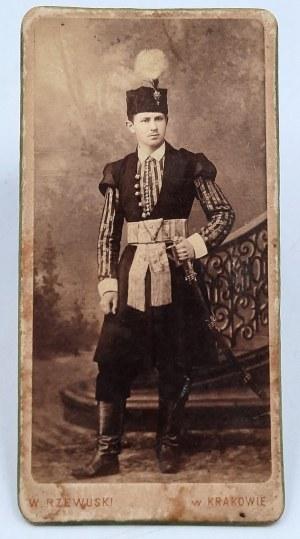 Rzewuski Walery - Fotografia - Stanisław Michał Antoni hr. Werszowiec-Rey z Nagłowic h. Oksza - Kraków [1860]