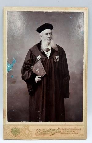 Heinrich Jandaurek- Fotografia Theodora Hasse - Cieszyn [1900]