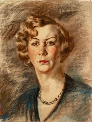 Hieronim Malina(1891-1948), Portret kobiety