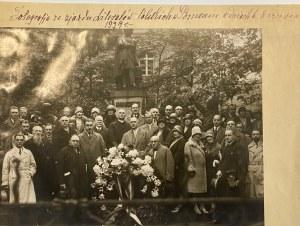 Fotografia i list ze Zjazdu Literatów Polskich