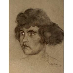 Hieronim Malina(1891-1948), ''Portret kobiety''