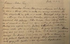 Feliks Nowowiejski- 2 listy i 1 telegram