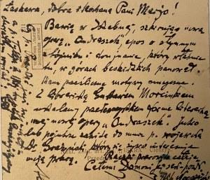 Feliks Nowowiejski(1877-1946)-list i 2 karty pocztowe