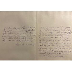 Olga Boznańska(1865-1940)-list