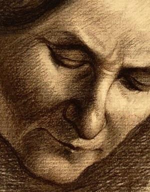 Hieronim Malina, ''Portret pochylonej kobiety''