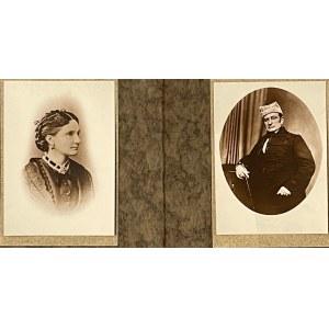 2 Portrety Kaspra i Ludwiki Kramarkiewiczów