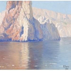 Soter August JAXA-MAŁACHOWSKI (1867-1952), Skaliste wybrzeże Capri (1921)