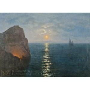 Roman BRATKOWSKI (1869-1954), Wieczór na Capri