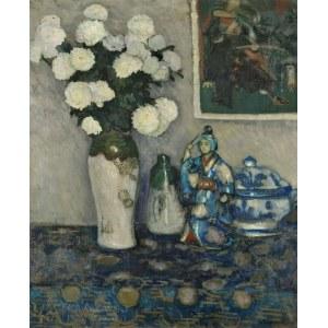 Stefan FILIPKIEWICZ (1879-1944), Białe astry (1907)